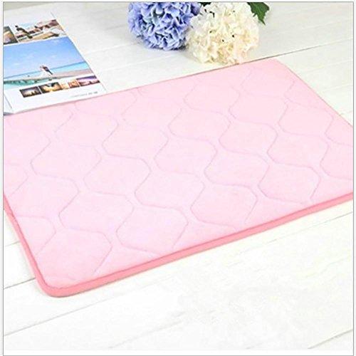 New day-Memoria cotone Tappeto corallo del panno morbido tappeto del salotto camera da letto comodino insonorizzate Carpet , pink , 120*160cm thickening