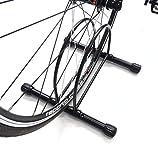 INION MHBS17 - Fahrradständer Fahrradhalter Fahrradparkplatz Ständer Fahrrad Bike Halterung Bodenständer REIFENBREITE VERSTELLBAR/chiavi