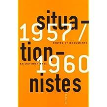 Textes et documents situationnistes, 1957-1960
