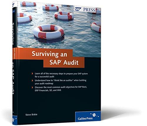 Surviving an SAP Audit: A Practical Guide to SAP Audits (SAP PRESS: englisch)