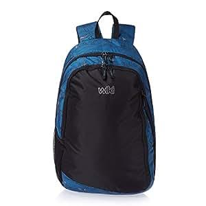 Wildcraft Vault LD Blue Casual Backpacks (8903338031741)