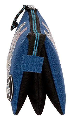 41yh9tcna4L - Movom Skateboard Neceser de Viaje, 22 cm, 1.32 Litros, Azul