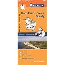 Nord-Pas-de-Calais, Picardy (Michelin Regional)