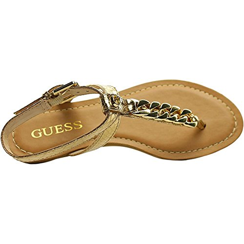 Guess Gurri Synthétique Sandale gold