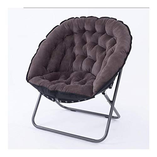 Wangcjd Hölzerner Fußschemel Dunkelgrauer Klappstuhl Chaise Longue Lounge Chair Sofa Chair