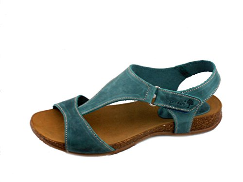 Rebelde , Tongs pour femme Jeans