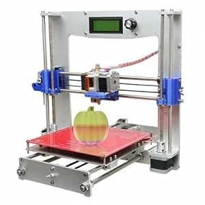 Prusa i3 d'aluminium de geeetech 3ème imprimante diy soutien de kit 5 filament