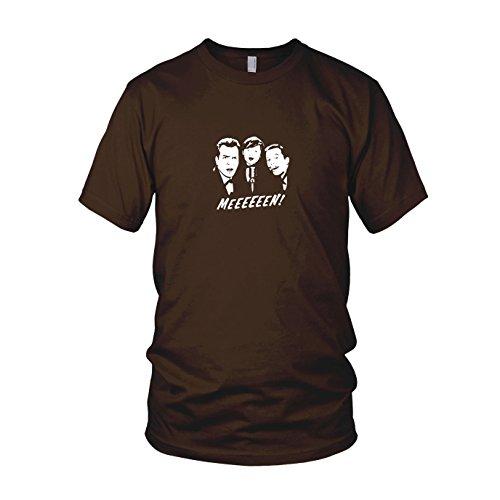 Meeeen! - Herren T-Shirt Braun