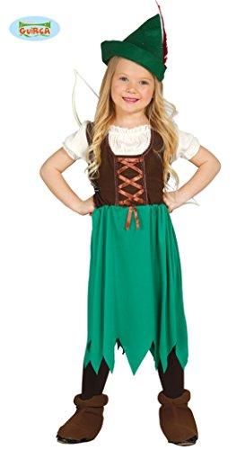m für Mädchen Gr. 98 - 134, Größe:98/104 (Grüner Pfeil-halloween-kostüme)
