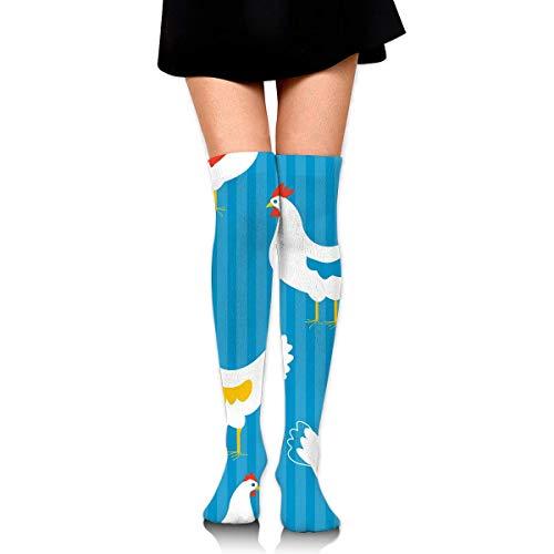 Sangeigt Kniestrümpfe, Women High Socks Over The Knee High Leg Warmer Hens Boot Stocking Extra Long Sport Tube Socks