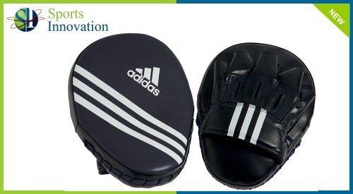 Adidas PU Focus Gants de boxe pour homme Noir 10 cm