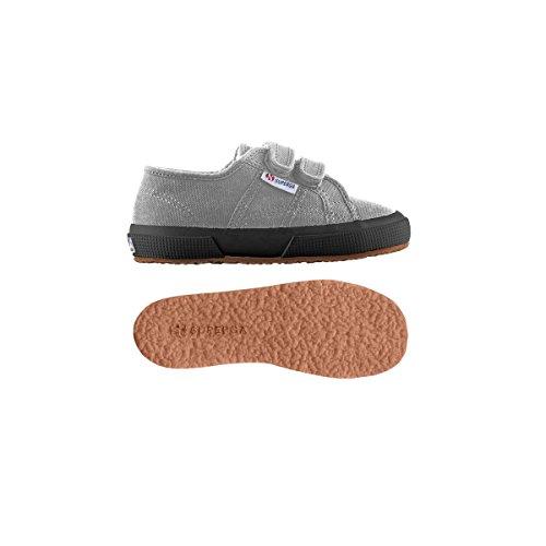 Superga 2750 Cobinvj, Unisex-Kinder Sneakers Grey Sage