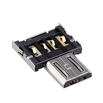 Kleine Usb-tablet (1x meZmory Micro USB OTG Adapter - Verbindungsstück für USB-Sticks (USB A) & Micro USB Geräten wie Android Smartphones & Diverse mehr (Kamera/Maus/Tablet etc) - Praktisch & kleines Zubehör)