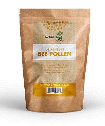 Natures Root Pollen de abeja español?Pollen de flores | para la salud | Suplemento Nutritivo completo