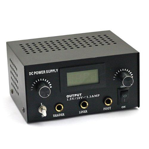 SainSonic Dual Digitale Stromversorgung für Tätowierung Maschine, Dual Digital Tattoo Machine Power Supply