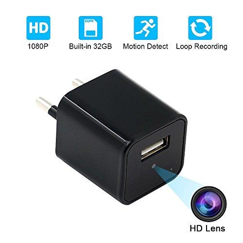Especificación:  Formato de video: AVI Resolución: 1920 * 1080 Velocidad de fotogramas de video: 30 fps Almacenamiento: memoria incorporada de 32 GB Tipo de interfaz: Micro USB Salida USB: DC-5V, 1A Rango de grabación: unos 6 metros Sistema operativo...