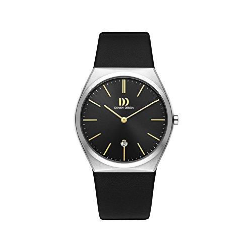 DANISH DESIGN Reloj Analógico para Hombre de Cuarzo con Correa en Cuero IQ33Q1236