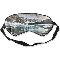 Eye Mask Eyeshade Snow Mountains Lake Sleep Mask Blindfold Eyepatch Adjustable Head Strap preisvergleich bei billige-tabletten.eu