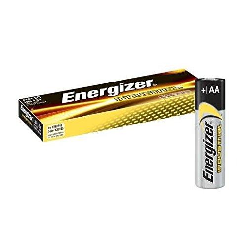 Energizer Industrial Batterien Mignon AA LR06 1,5 V (10er-Pack) 2850 mAh (Aa-energizer Batterien)