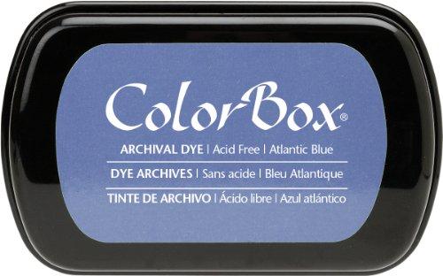 Colorbox Archival Dye Tinte Full Size Stempelkissen, Atlantic blau -