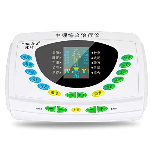 TENS EMS Multifuncional 6 Canales Digital Display Electroestimulador Estimulador Muscular Masajeador...