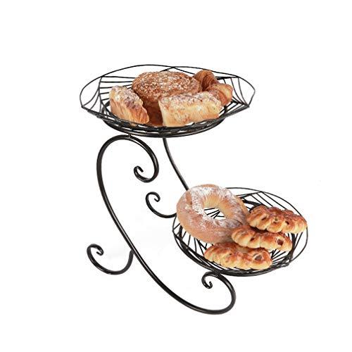 Donut Présentoir/Cabinet De Gâteau Décoration Décoration Dessert Stand/Mariage Fête d'anniversaire Présentoir/Cuisine Commercial Restaurant Décoration Support De Stockage (51 * 30cm)
