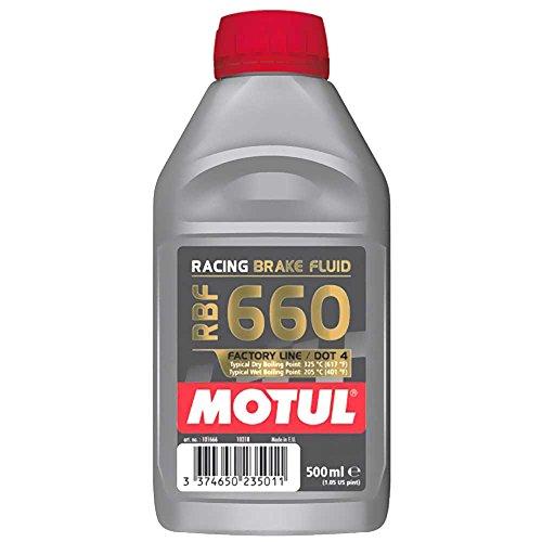 Preisvergleich Produktbild Motul Bremsflüssigkeit Dot4 0.5l Rbf 660 Racing 101666 3374650235011