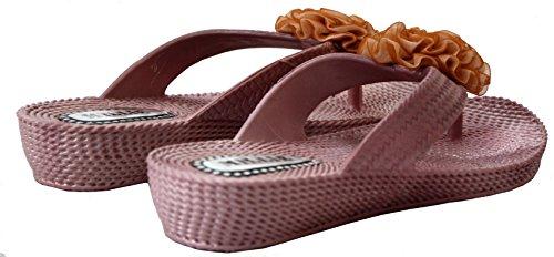 A&H Footwear - Flip flop da ragazza' donna Gold