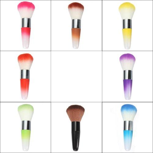 1 PCS Pinceaux Maquillage Brosse Fard ¨¤ Joues Fond De Teint Poudre Visage Kabuki Brush Couleur aleatoire