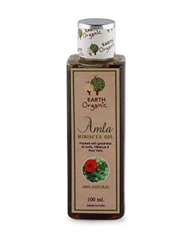 Terre Bio Amla Hibiscus Huile pour cheveux 100 ml