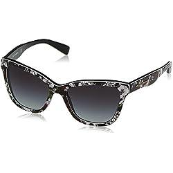 Dolce & Gabbana DG4237 30198G (47 mm) - gafas de sol Unisex adulto, Rosa (rosa/schwarz), Talla única (Talla del fabricante: One size)
