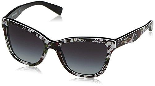 Dolce & Gabbana Unisex DG4237 Sonnenbrille, Mehrfarbig (Multicolor 30198G), One Size (Herstellergröße: 47)