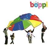 boppi- Paracaidas Grande de Juegos 3,5 Metros- Rojo, Verde, Amarillo &...