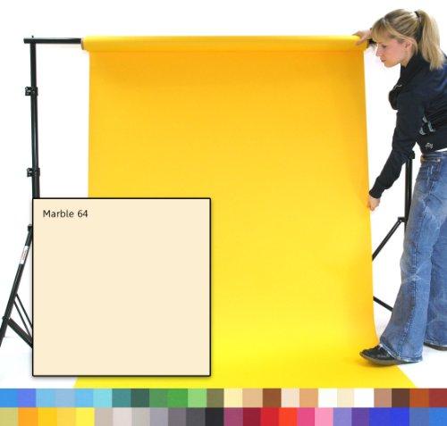 Marmor, Papier Hintergrund (MARBLE - MARMOR - fotographisches Studio-Hintergrund-Papier, 1.35m breit (9') x 11m lang (36'), Schwergewicht 180gsm Hintergrund. Berufsstudio-und Ausgangsgebrauch. Knittern Sie frei, keine Krisenherde, vollkommener Hintergrund für die besten Qualitätsbilder. Über 50 Farben, zum von zu wählen)