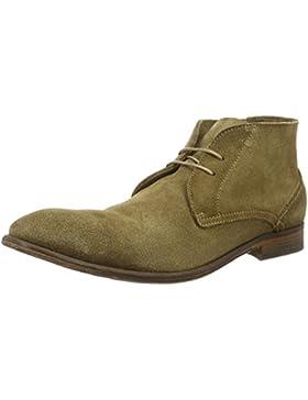 Hudson London Herren Osbourne Suede Dip Tobacco Chukka Boots