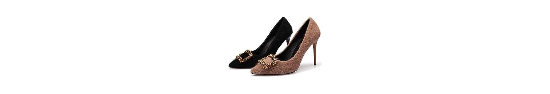 ZXMXY Zapatos de Mujer Sandalias de tacón Alto con Punta Cuadrada -
