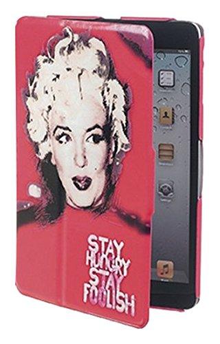 Klappetui für iPad Mini, mehrfarbig (Ipad 4 Hülle Marilyn Monroe)
