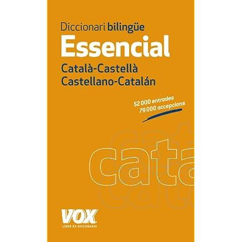 Diccionari Essencial Castellano-Catalán. Català-Castellà (Vox - Lengua Catalana - Diccionarios