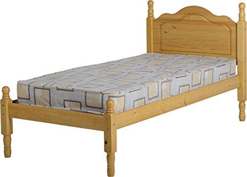 ValuFurniture Sol Single Bed Frame 3ft - Antique Pine