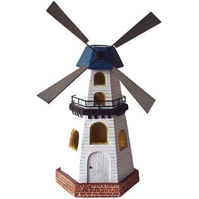 Beleuchtete Windmühle Solarlampe mit 2LEDs Beleuchtung von Multistore 2002 auf Lampenhans.de