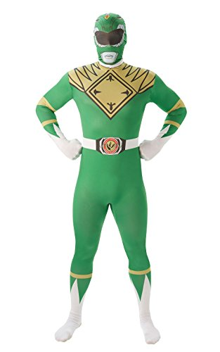 Mighty Morphin Power Rangers Green Ranger - Adult 2nd Skin Costume Men : MEDIUM