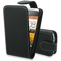 Gadget Giant Klapp-Schutzhülle für HTC Desire C, PU-Leder, mit Displayschutzfolie