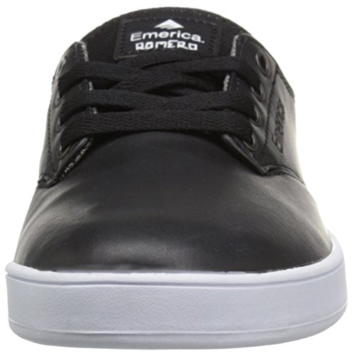 Emerica The Romero Laced, Herren Skateboardschuhe black/white/white
