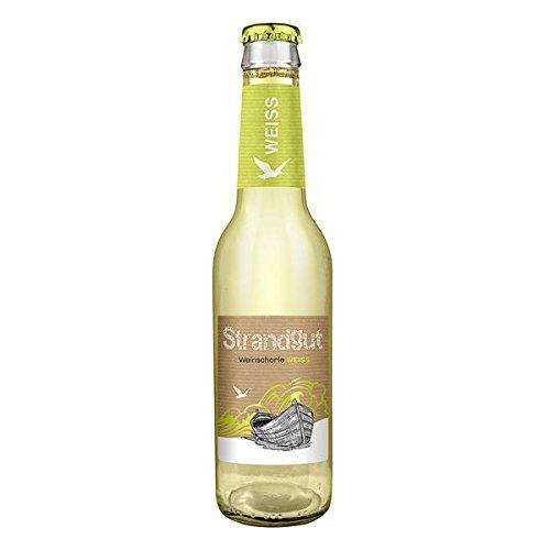 Schorle Flasche (12 Flaschen Strandgut Weinschorle Weiß a 275ml Schorle kleine Flaschen)