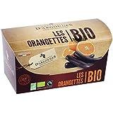 Orangettes enrobées chocolat noir 72% Bio/Fairtrade Chevaliers d'Argouges 180g