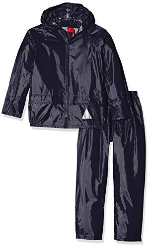 Result completo con giubbino e pantalone, da bambino, modello: re95j, pesante e impermeabile, bambini, re95j, blu navy, x-large/size 11/12