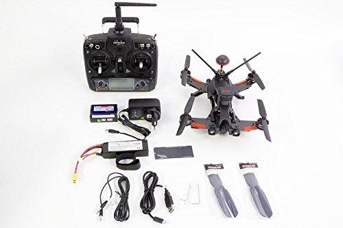 Walkera 15004600 - Runner 250 Pro Racing-Quadrocopter RTF - FPV-Drohne mit HD Kamera, GPS, OSD, Akku, Ladegerät und Devo 7 Fernsteuerung - 2