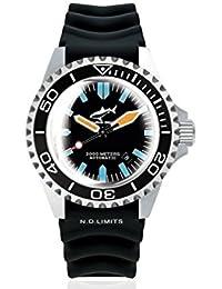 Chris Benz Deep 2000m Automatic Super Bubble CB-2000A-G3-KB Automatic Mens Watch Diving Watch