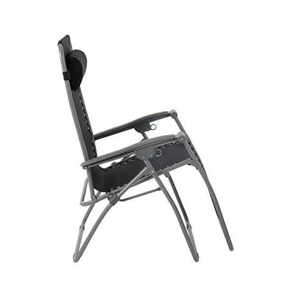 Azuma Zero Gravity Chair - Texteline - Black