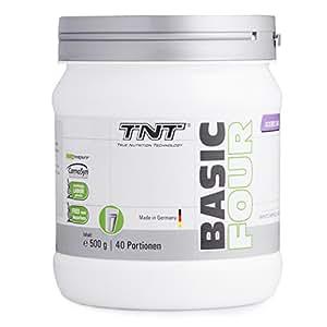 Pre Workout Booster Fitness – Creapure Creatin-Monohydrat, Tyrosin, Beta-Alanin – Trainingsbooster / 500g WHITE APPLE